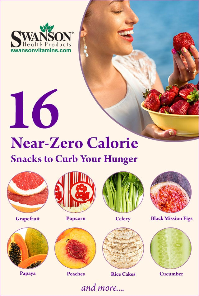 low calorie snack foods