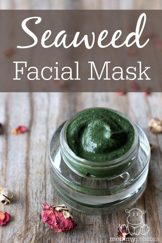 seaweed face mask recipe