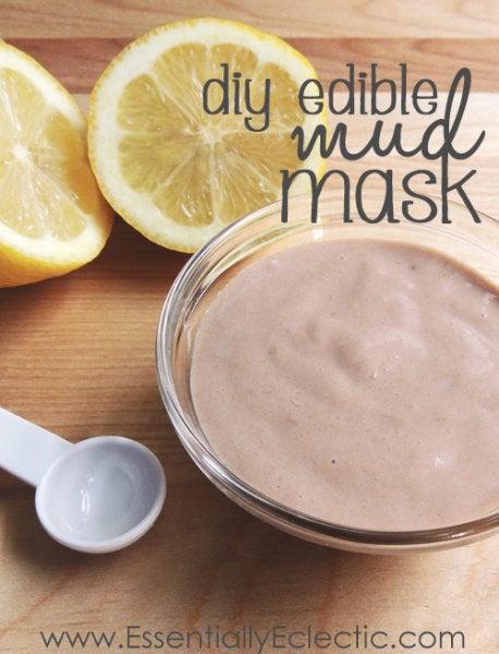 edible mud mask