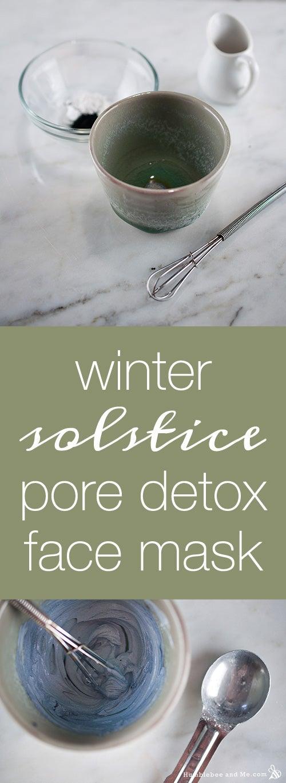 pore detox face mask recipe