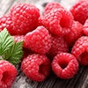 raspberries contain 8g of fiber which help you feel full