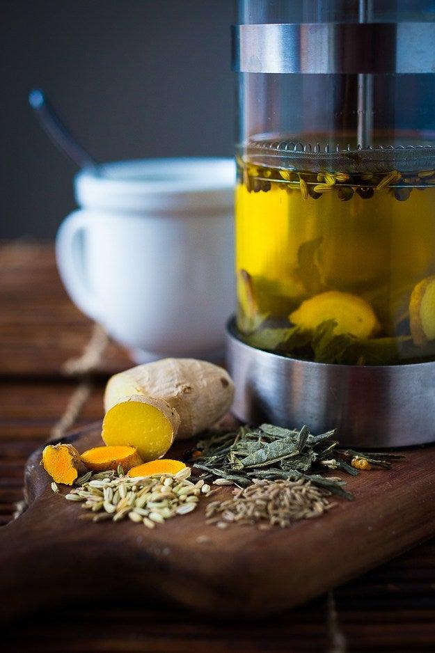 ayurvedic detox tea for easy digestion