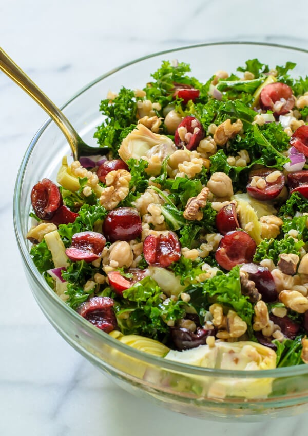summer detox salad recipe for body cleanse diet