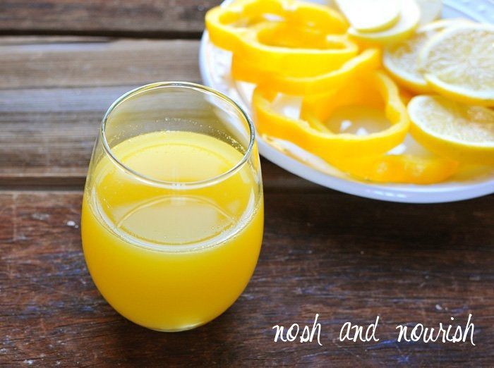super yellow juice drink for body cleansing