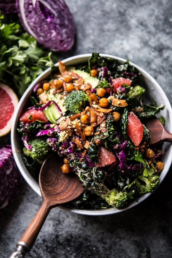 mean green detox salad