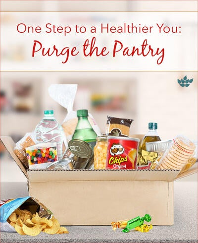 One Step to a Healthier You: Purge the Pantry