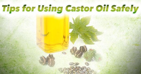 using castor oil safely