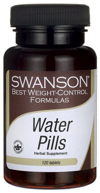 water pills for weight loss