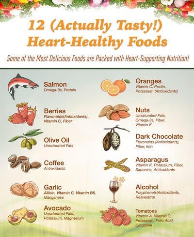 12 (Actually Tasty!) Heart-Healthy Foods