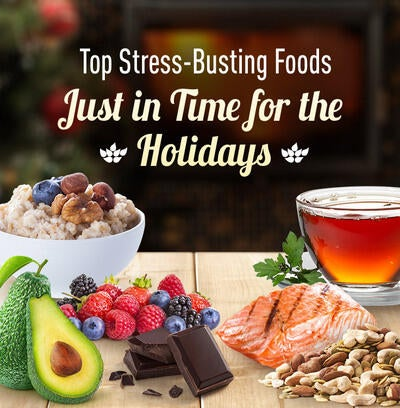 7 Delicious Stress-Busting Foods… Just in Time for the Holidays