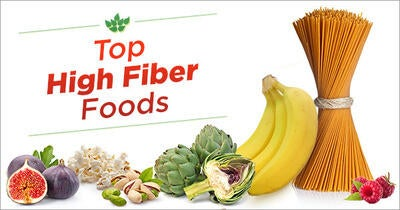The Top High Fiber Foods - How Many Do You Eat?