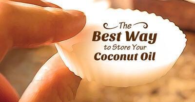 Coconut Oil Storage: Single Use Frozen Coconut Oil Cubes