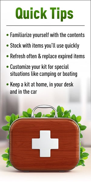 tips for making a natural first aid kit
