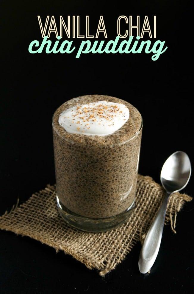 Vanilla Chai Chia Pudding