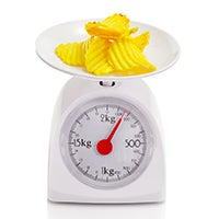 food scale to stop overeating