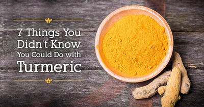 7 Things You Didn't Know You Could Do with Turmeric