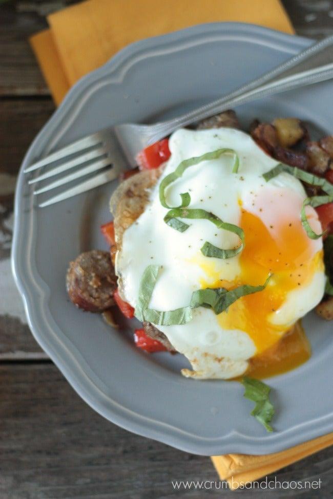 Brat Breakfast Hash