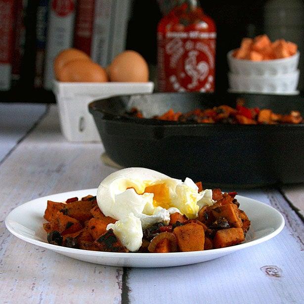 Sweet Potato Black Bean Breakfast Hash