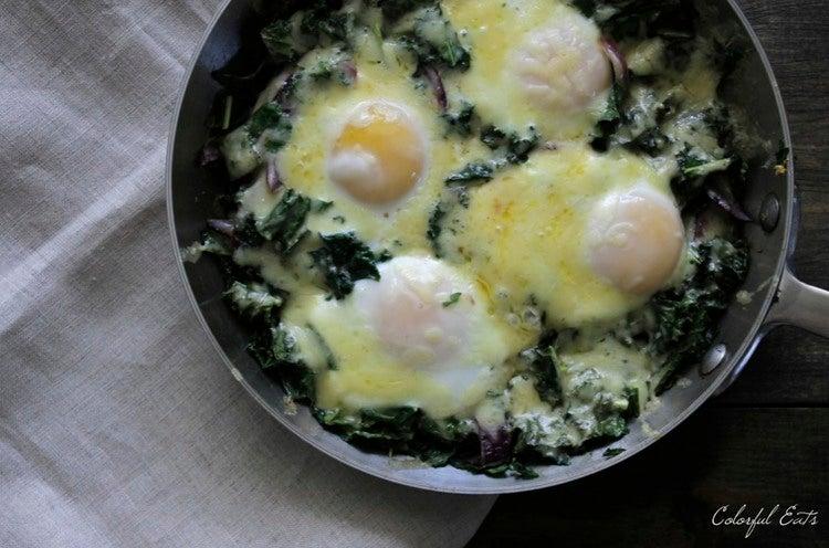 Winter Kale Breakfast Hash