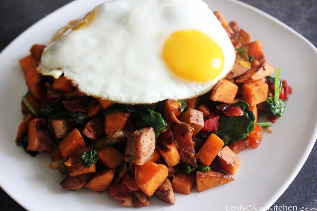 Loaded Paleo Breakfast Hash