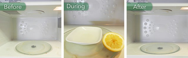 using lemons in the microwave