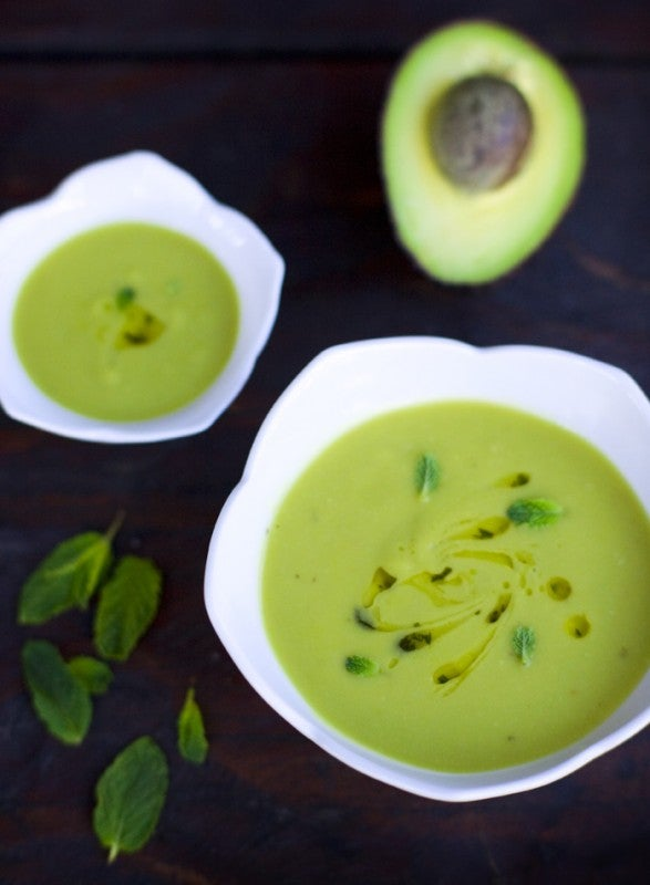 avocado soup recipe