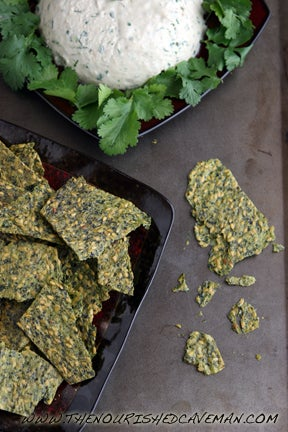 raw avocado flax crackers recipe