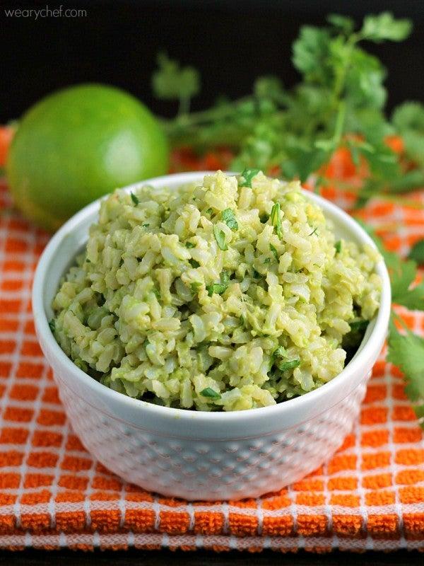avocado lime rice recipe