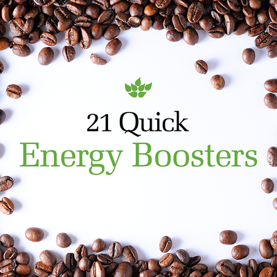 21 Quick Energy Boosters