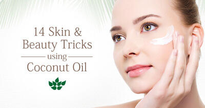 Coconut Oil Skincare: 14 Do-It-Yourself Recipes for All Natural Beauty