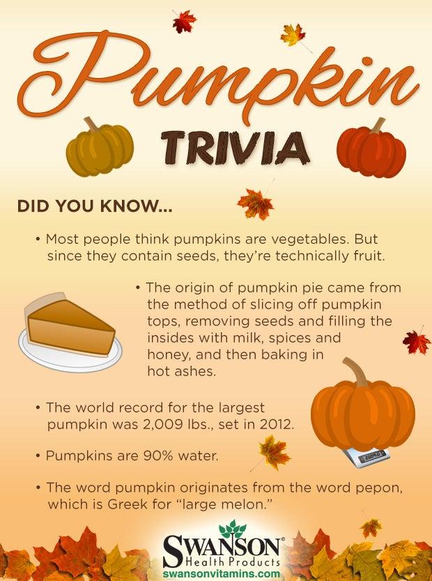 pumpkin fact trivia