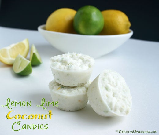 Lemon Lime Coconut Candy Recipe