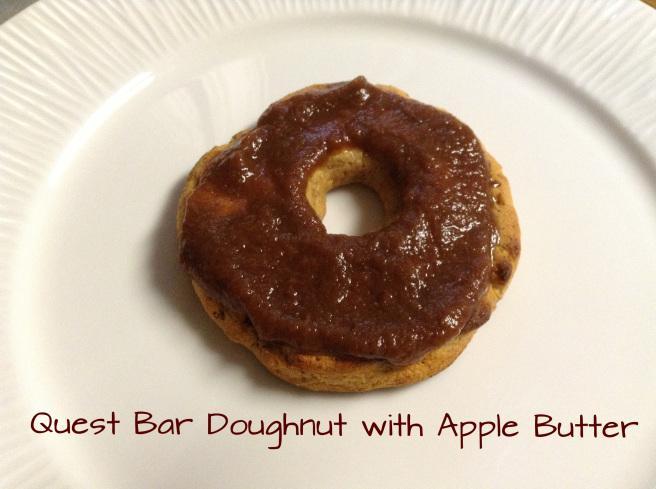 Quest Bar Doughnuts with Apple Butter