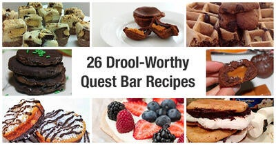 26 Drool-Worthy Quest Bar Recipes to #CheatClean!