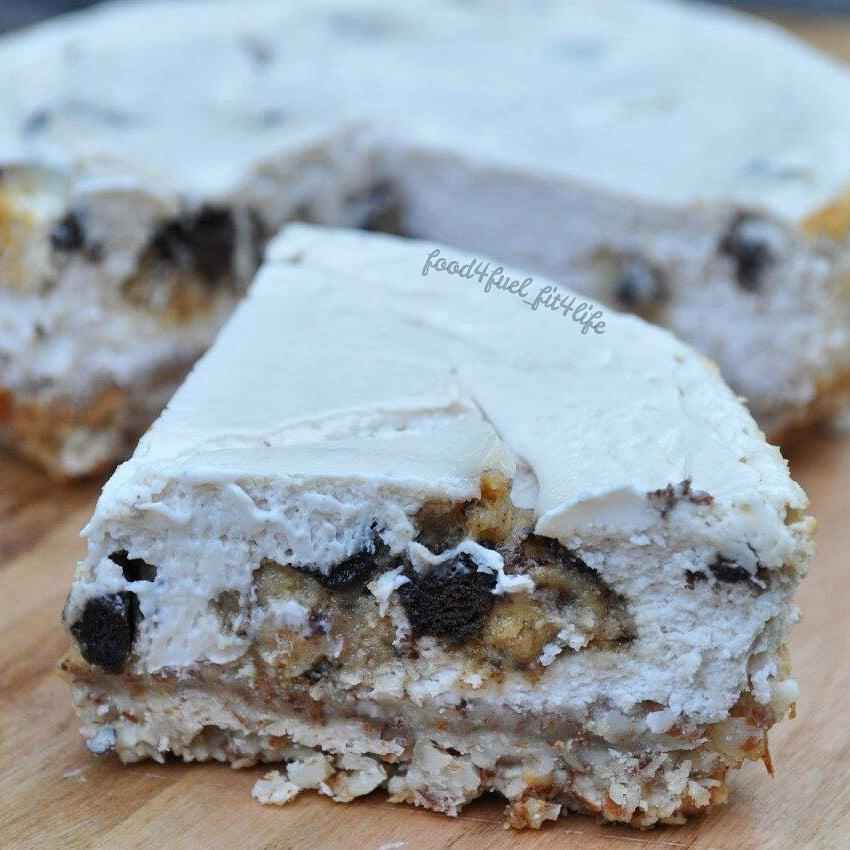 Cookies N Cream Quest Bar Cheesecake