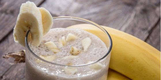 Banana Chocolate Avocado Blender Bottle Recipe