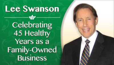 Lee Swanson at Swanson Health Products