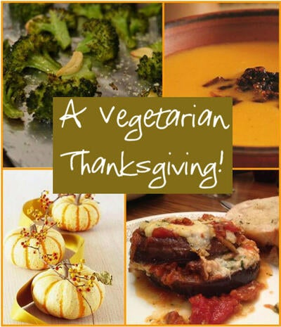 A Vegetarian Thanksgiving: 3 of My Favorite Recipes