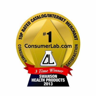 Swanson Health Products is Awarded the 2013 ConsumerLab.com Survey Top Rated Catalog/Internet Merchant Based on Customer Satisfaction