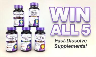 Natrol® Fast Dissolving Supplements Deliver Fast Results