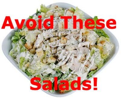 4 Salads to Avoid