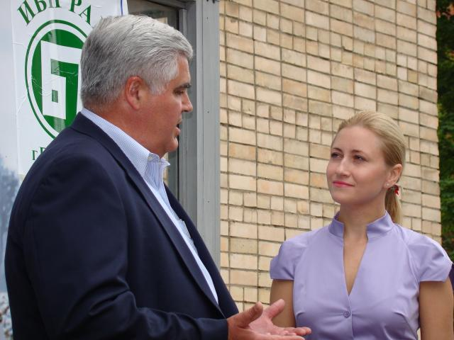 Swanson Product Development Director talks with former model and entrepreneur Anastasia Savenkova