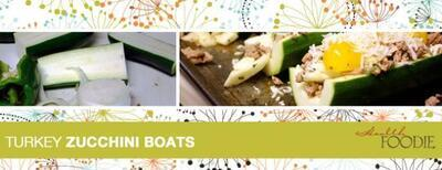 Turkey Zucchini Boats: A Healthy Recipe for a Meal or Snack