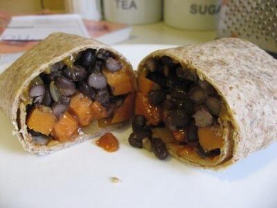 Sweet Potato & Black Bean Burrito Recipe: A Healthy, Hearty Meal