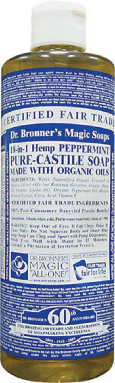 Dr. Emanuel Bronner and His Liquid Castile Soap