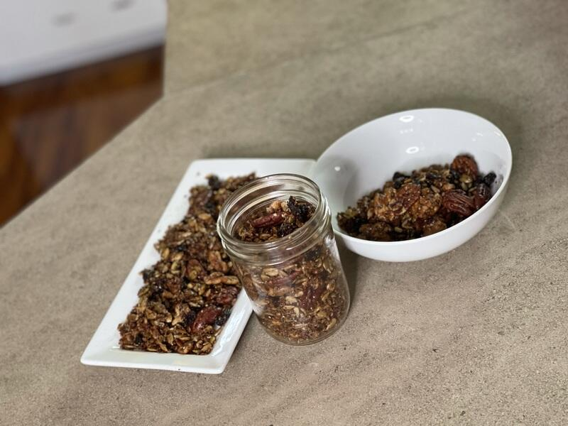 Homemade Grain-Free Granola Recipe