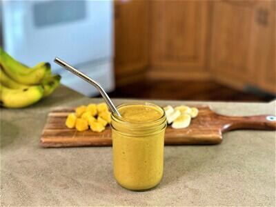 Protein-Packed Golden Milk Smoothie