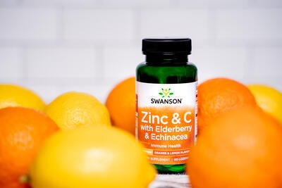 New from Swanson: Zinc & C Lozenges for Immune Support