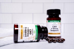 New from Swanson: CBD Combination Formulas for Stress and Sleep Support