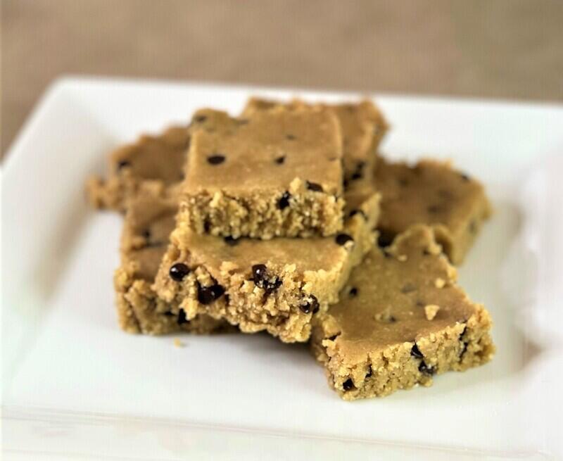 Healthy Edible Cookie Dough Bars